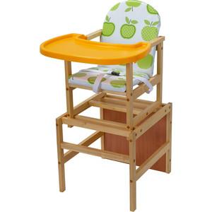 Стульчик для кормления ПМДК Гулливер с пластиковой столешницей яблоко (УТ0010392)