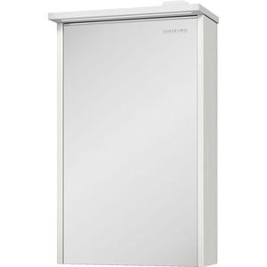 зеркальный шкаф edelform уника 100 белый с дуб гальяно 2 741 45 s Зеркальный шкаф Edelform Марино 42,2x68,1 выбеленный дуб (2-793-48-S)