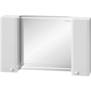 Зеркало-шкаф Edelform Нота 103,1x63 с подсветкой, белый (35657)