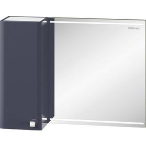 Зеркало-шкаф Edelform Нота 83x63 с подсветкой, серый (35810)