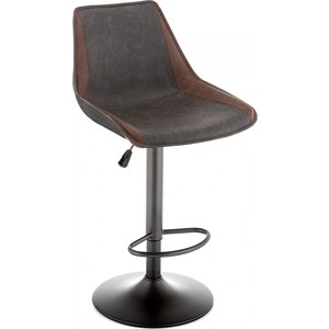Барный стул Woodville Kozi серый/коричневый
