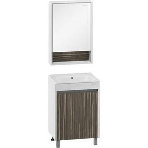 Мебель для ванной Edelform Белль 60 белый макассар