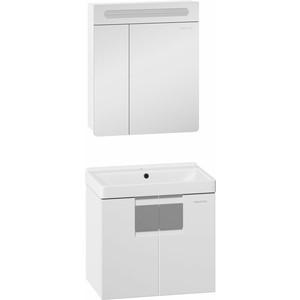 Мебель для ванной Edelform Гласс 60 белая