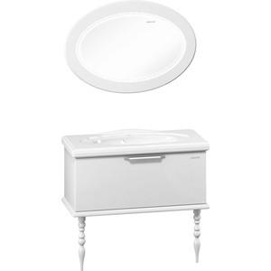 Мебель для ванной Edelform Декора 100 белый сантехника edelform