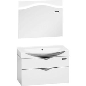 Мебель для ванной Edelform Дольче 86 белая