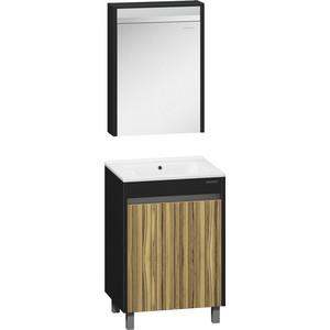 Мебель для ванной Edelform Карино 60 черный эбони тумба под раковину edelform карино 59 2x45 5 черный эбони 35644