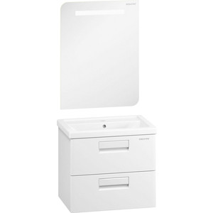 Мебель для ванной Edelform Колоре 60 белая