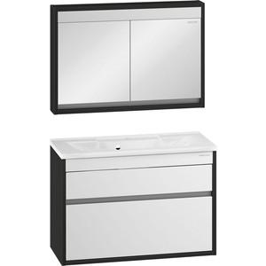 Мебель для ванной Edelform Константе 100 венге белая