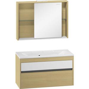 Мебель для ванной Edelform Уника 100 дуб гальяно