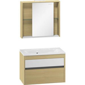 Мебель для ванной Edelform Уника 80 дуб гальяно смеситель edelform albus ab1800