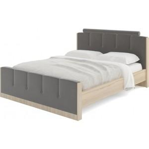 Кровать Комфорт - S Arvo Веса М 1 туя/малибу дарк грей 160