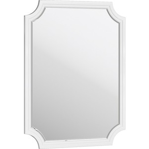 Зеркало Aqwella 5 Stars LaDonna 72x95 белое (LAD0207W)