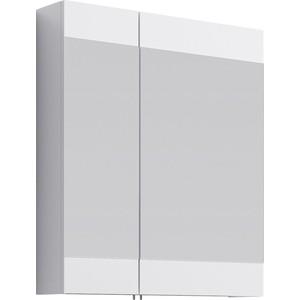 Зеркальный шкаф Aqwella Brig 70x80 белый (Br.04.07/W) зеркальный шкаф aqwella delta del m 04 33