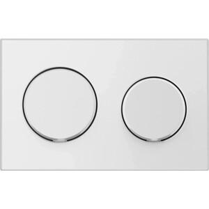 Кнопка смыва Vitra Uno круглые кнопки, глянцевый хром (720-0280EXP)