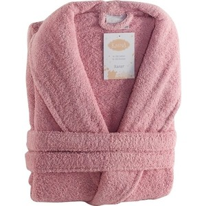 Халат женский Karna хлопок Basic L (3040/CHAR003) Розовый