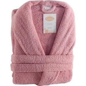 Халат женский Karna хлопок Basic S (3040/CHAR001) Розовый