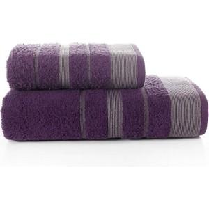 Набор из 2 полотенец Karna Regal Set (50X90/70X140) (3093/CHAR003) Фиолетовый цена