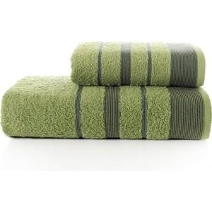 цена Набор из 2 полотенец Karna Regal Set (50X90/70X140) (3093/CHAR004) Зеленый онлайн в 2017 году