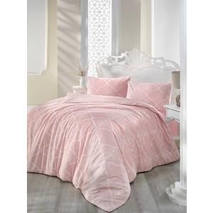 Комплект постельного белья Ranforce Евро, хлопок, Lamina (297/22/CHAR003) Розовый