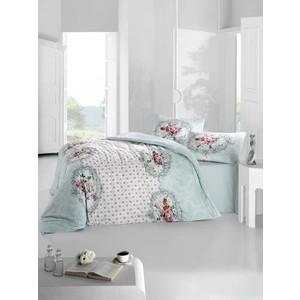 Комплект постельного белья Ranforce Евро, хлопок, Mira (297/26/CHAR001) Голубой