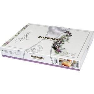 Комплект постельного белья Ranforce 1,5 сп, хлопок, Viola (298/15/CHAR002) Коричневый стоимость