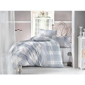 Комплект постельного белья Ranforce 1,5 сп, хлопок, Viola (298/15/CHAR001) Бирюзовый стоимость