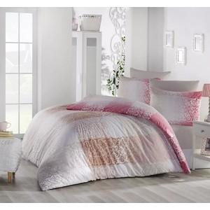 Комплект постельного белья Ranforce 1,5 сп, хлопок, Elfin (298/65/CHAR002) Розовый