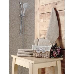 Набор кухонных полотенец 6 штук Karna Pruva (30X30) (5114/CHAR001) Бежевый