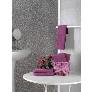 Набор кухонных полотенец 5 штук Karna Twist (30X30) (5115/CHAR005) Красный