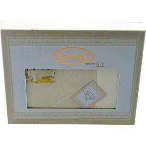Скатерть Karna 60% хлопок 40% полиестер Neo Coton 160X300 пряумогольная (3016/CHAR003) Кремовый цена и фото
