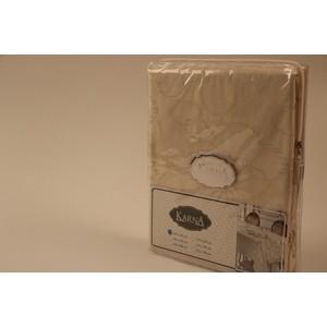 Скатерть Karna 50% хлопок полизстер Linen 160X220 пряумогольная (3134/CHAR002) V11
