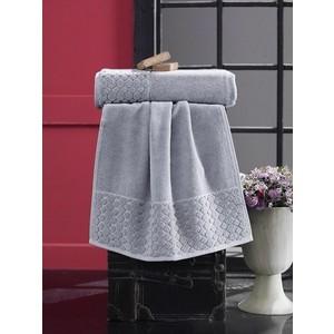 Полотенце Karna Ponpon (70X140) (3152/CHAR004) Серый