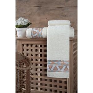 Полотенце Karna Giza (70X140) (3194/CHAR001) Кремовый