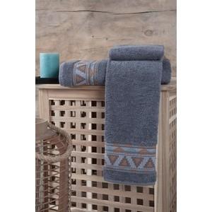 Полотенце Karna Giza (70X140) (3194/CHAR003) Серый