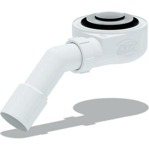Сифон для душевого поддона АНИ пласт 1 1/2х60 h 53 мм, Клик-клак, с переходной трубой 45° 40/50 (E451CL)