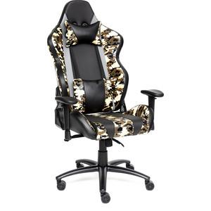 Кресло TetChair iBrave кож/зам, черный/хаки кресло tetchair iwheel кож зам черный красный