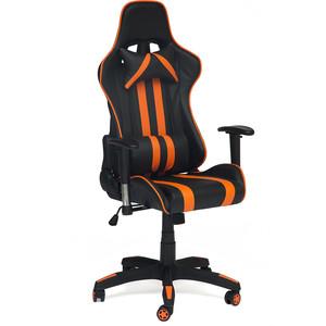 Кресло TetChair iCar кож/зам, черный/оранжевый