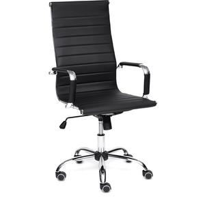 Кресло TetChair URBAN кож/зам, черный кресло tetchair iwheel кож зам черный красный