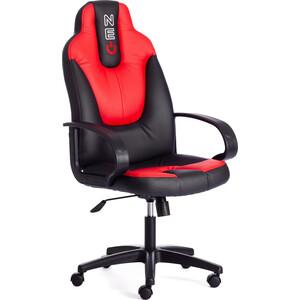 Кресло TetChair NEO (1) кож/зам, черный/красный, 36-6/36-161 цены онлайн
