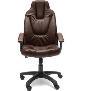 Кресло TetChair NEO (2) кож/зам, коричневый, 36-36 кресло tetchair runner кож зам ткань черный жёлтый 36 6 tw27 tw 12