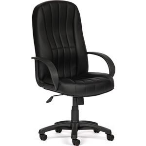 Кресло TetChair NEO (2) кож/зам, черный/жёлтый, 36-6/36-14