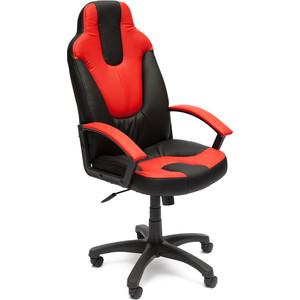 Кресло TetChair NEO (2) кож/зам, черный/красный, 36-6/36-161 кресло tetchair iwheel кож зам черный красный