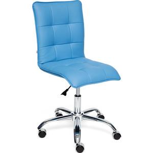 Кресло TetChair ZERO кож/зам, голубой, 04-20
