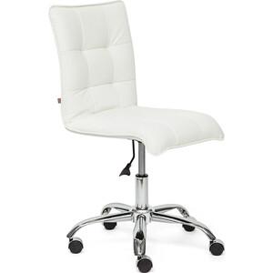 Кресло TetChair ZERO кож/зам, белый, 36-01 кресло tetchair runner кож зам ткань белый синий красный 36 01 10 08