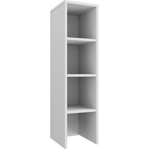 Шкаф - стеллаж Олимп 06.20 - 01 Конти/белый/ДВПО белый цена и фото