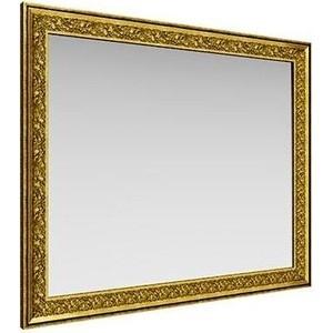 Зеркало навесное Олимп Айрум дуб кальяри/профиль золото с орнаментом