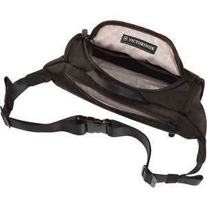 Сумка поясная Victorinox Lumbar Pack, черный, 27x7x15 см, 3 л рюкзак victorinox flex pack