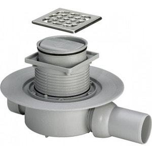 Душевой трап Viega 4936.2 с сухим отводом горизонтальный отвод (583248) цена