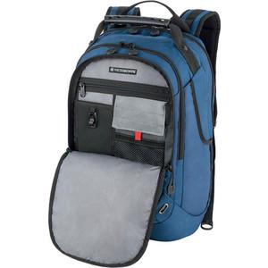Рюкзак городской Victorinox VX Sport Trooper 16'', синий, 34x27x48 см, 28 л рюкзак городской victorinox vx sport cadet цвет голубой 20 л подарок нож брелок escort