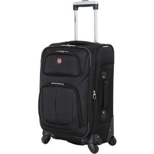 Чемодан Wenger Sion, черный, 37x22x60 см, 35 л, шт цена и фото